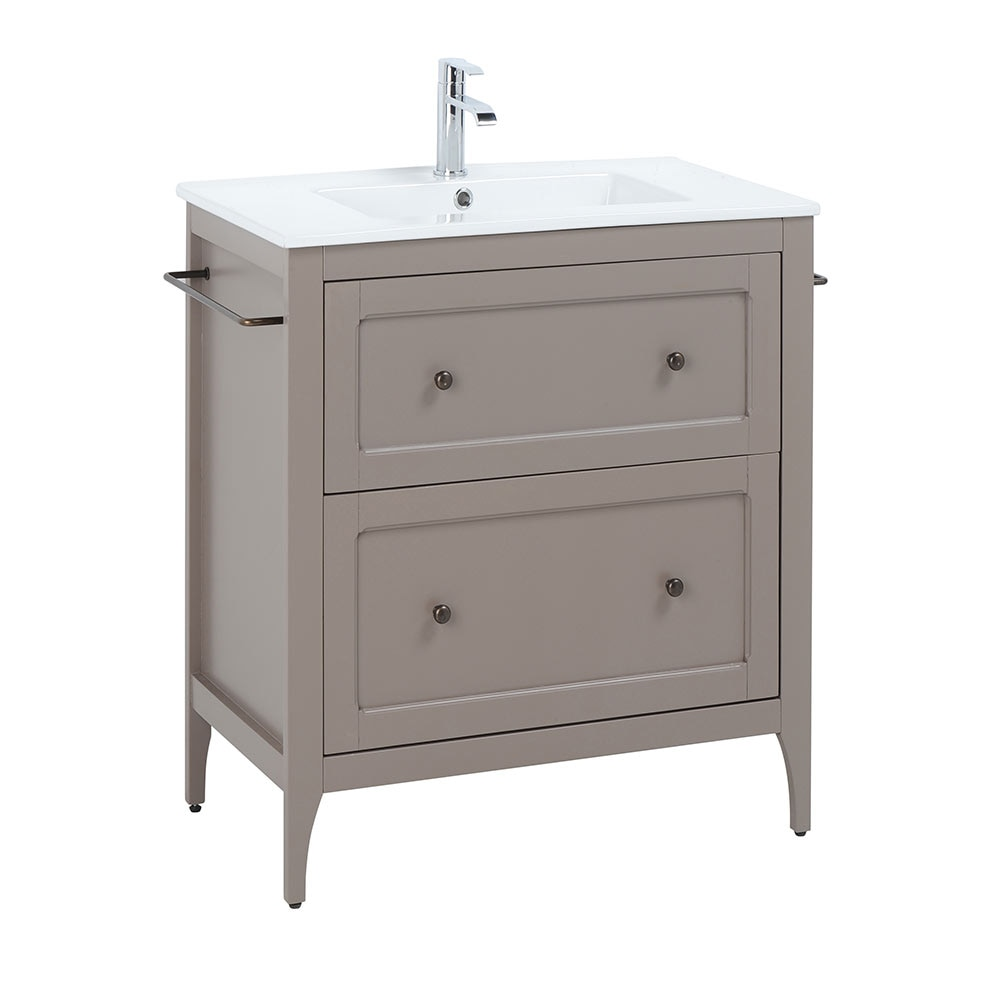 Mueble de lavabo ashley ref 18566345 leroy merlin for Palets de plastico leroy merlin