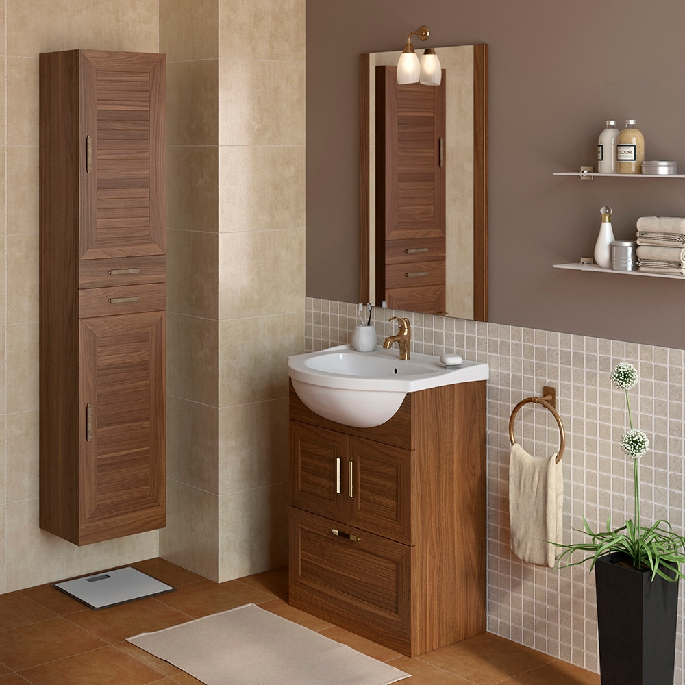 Mueble de lavabo atenas ref 17307031 leroy merlin for Lavabo leroy merlin
