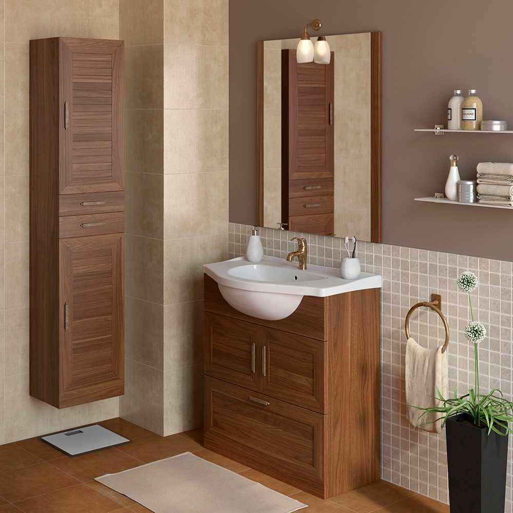 mueble de lavabo atenas ref 17307066 leroy merlin. Black Bedroom Furniture Sets. Home Design Ideas