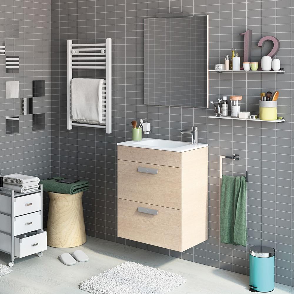 Conjunto de mueble de lavabo debba ref 16709413 leroy for Mueble fregadero leroy merlin