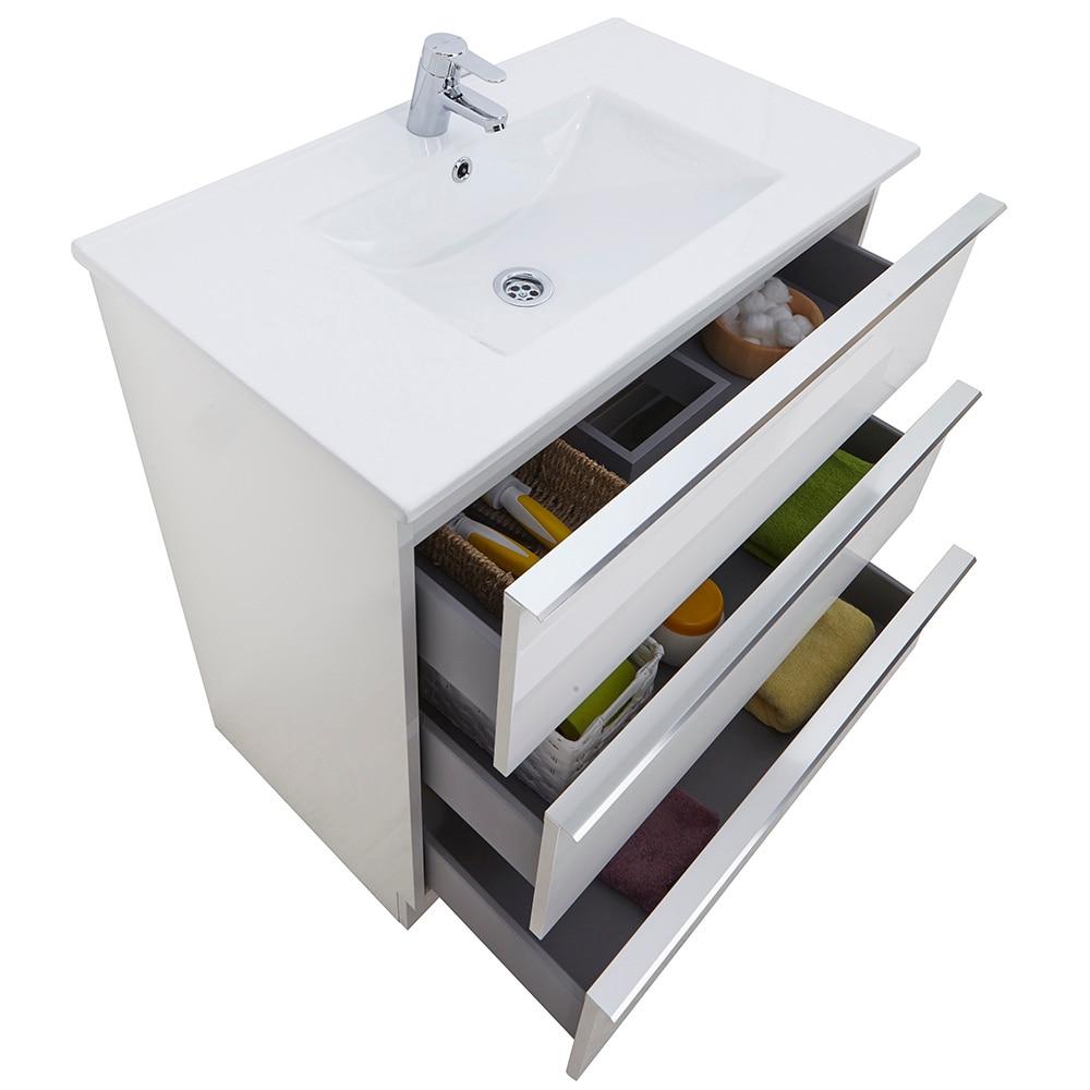Mueble de lavabo discovery ref 17359734 leroy merlin for Muebles de bano de 70