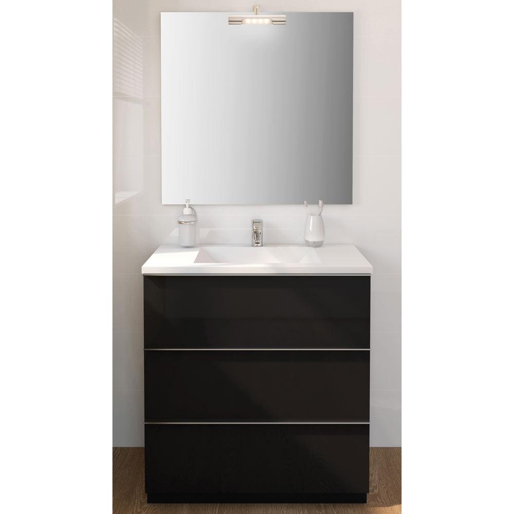 Mueble de lavabo discovery ref 17359783 leroy merlin for Mueble lavadora leroy merlin