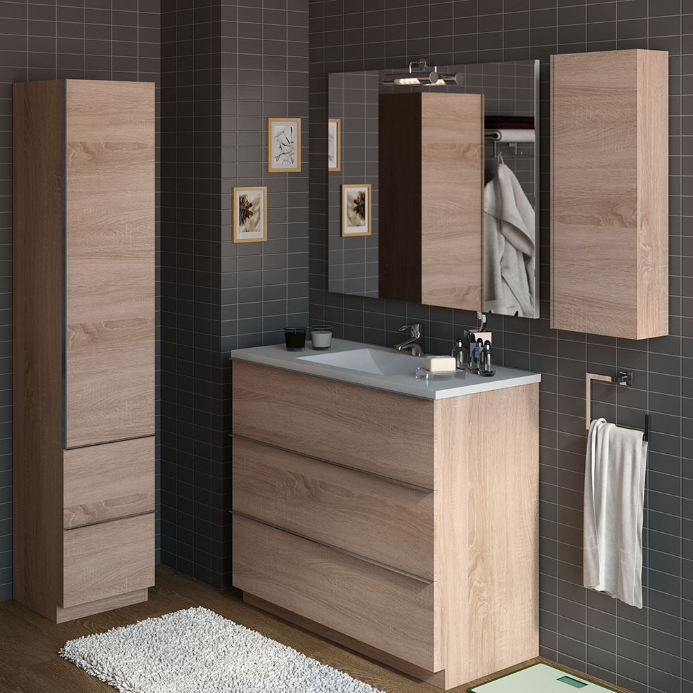 Mueble de lavabo discovery ref 17359853 leroy merlin for Lavabos leroy merlin fotos