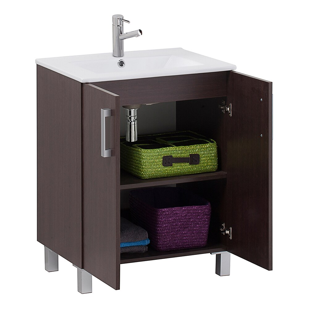 mueble de lavabo eco ref 16730966 leroy merlin. Black Bedroom Furniture Sets. Home Design Ideas