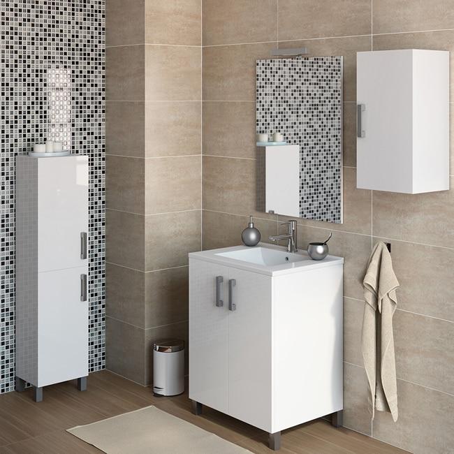 Mueble de lavabo eco ref 16730973 leroy merlin for Presupuesto reforma bano leroy merlin