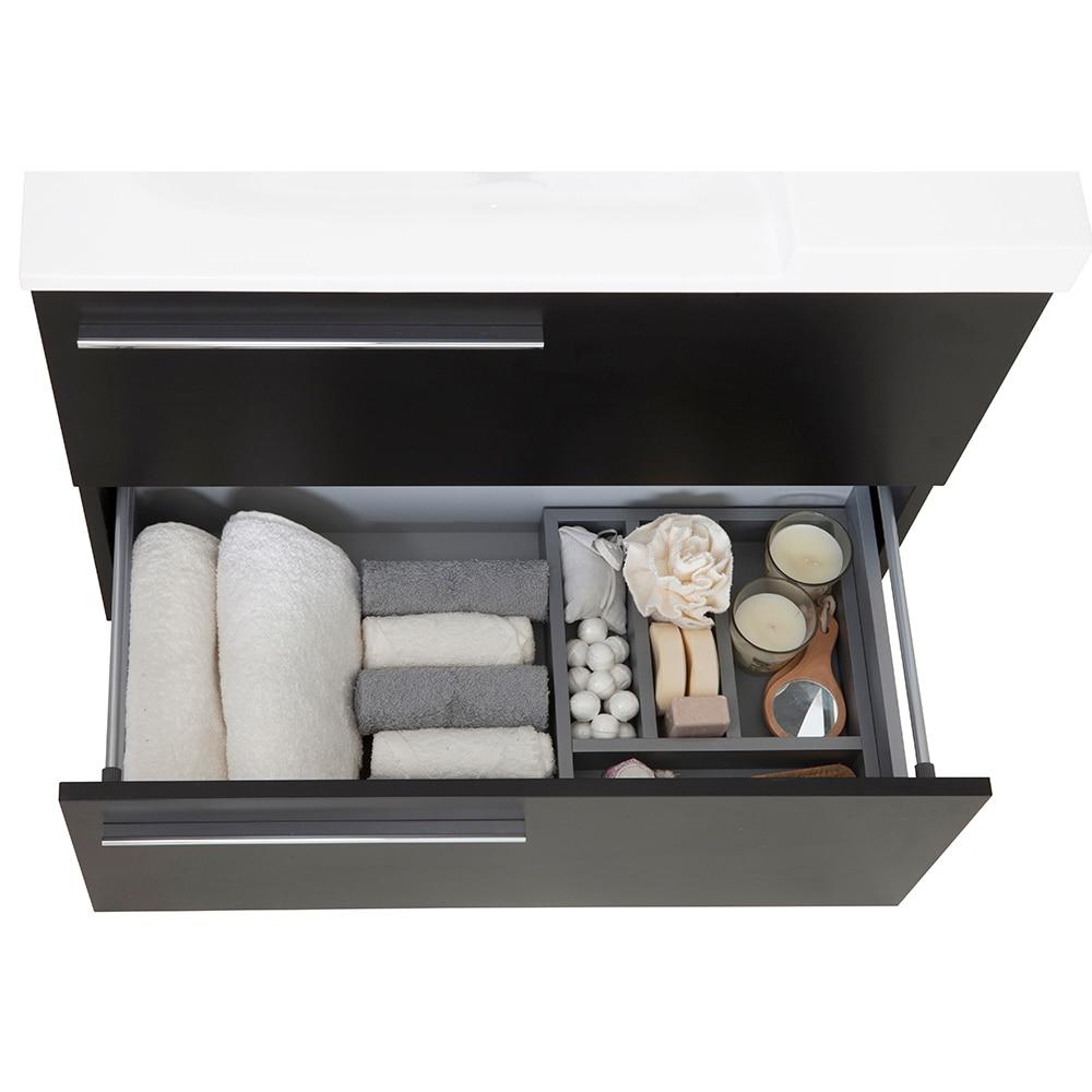 Mueble de lavabo elea ref 14991242 leroy merlin - Mueble lavabo pie leroy merlin ...