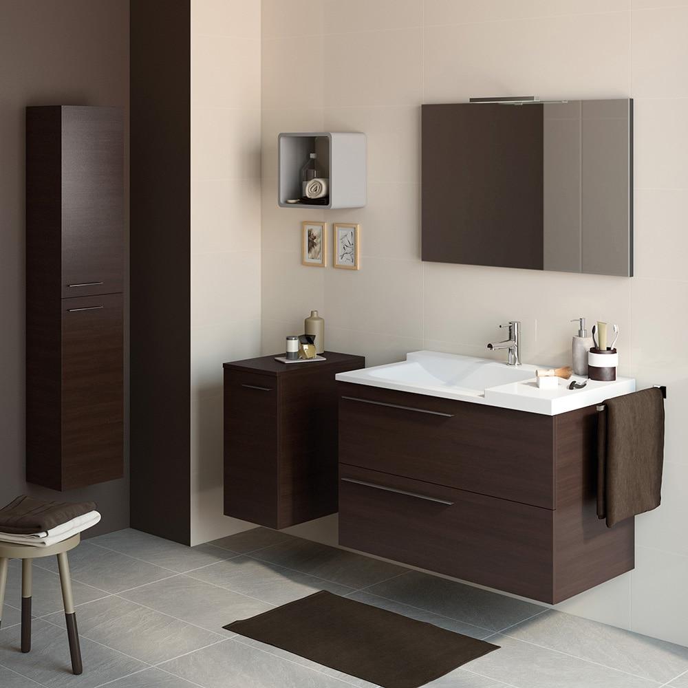 Mueble de lavabo elea ref 14991333 leroy merlin - Lavabos de cristal leroy merlin ...
