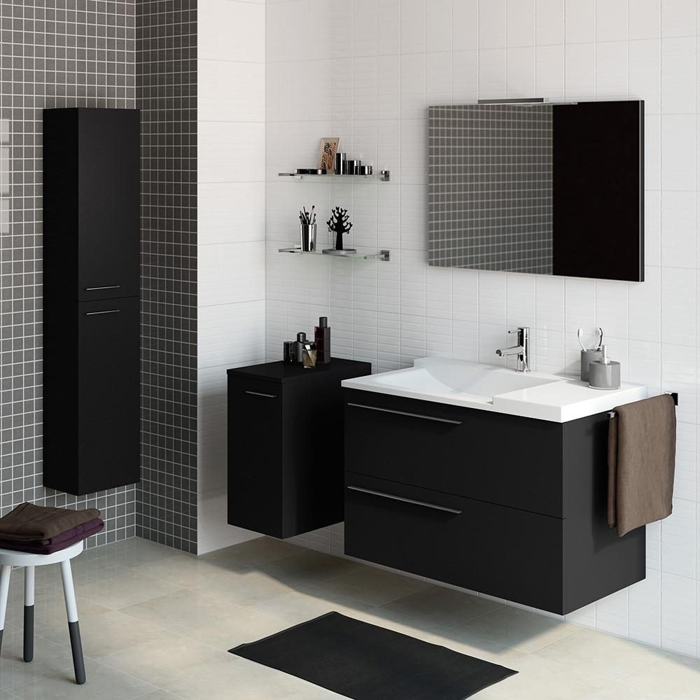 Mueble de lavabo elea ref 14991340 leroy merlin for Mueble auxiliar lavabo