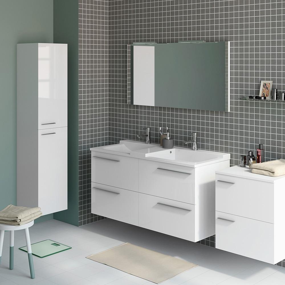 Mueble de lavabo elea ref 14991361 leroy merlin for Mueble fregadero leroy merlin