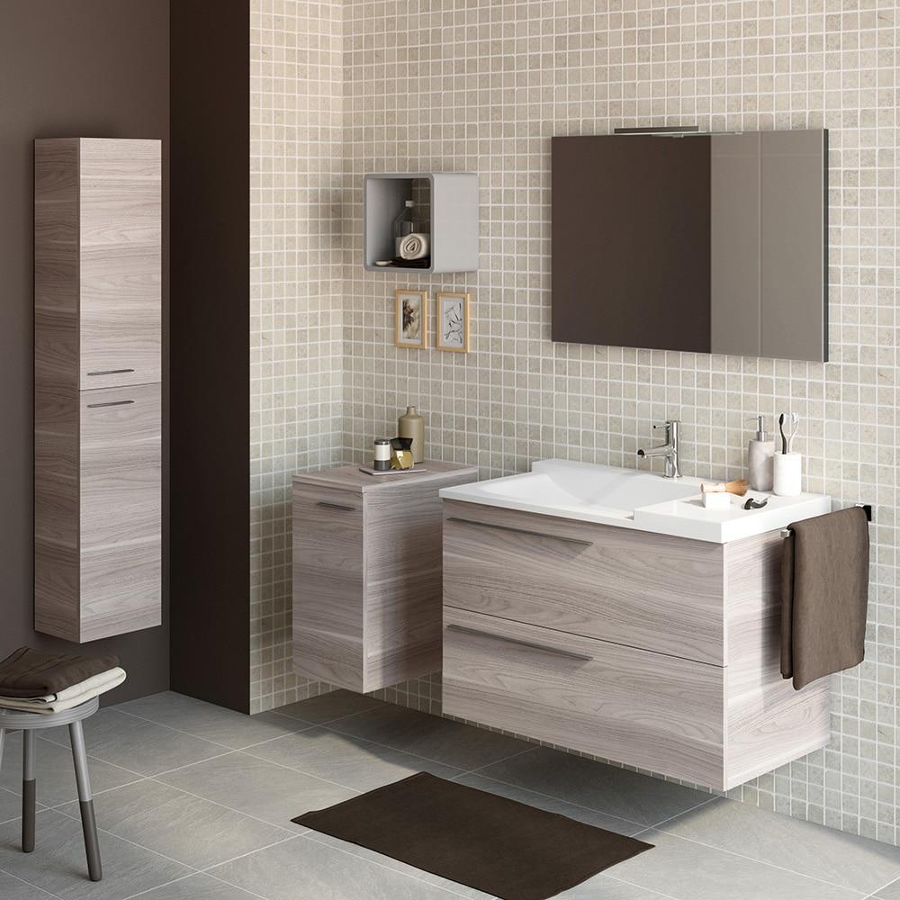 Mueble de lavabo elea ref 15524362 leroy merlin for Lavabo pietra leroy merlin