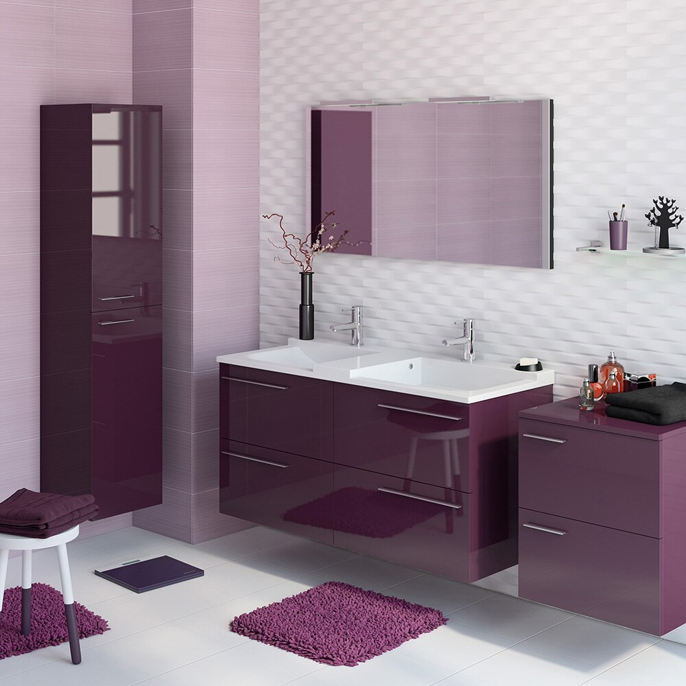 Mueble de lavabo elea ref 16742404 leroy merlin for Lavabo pequeno leroy merlin