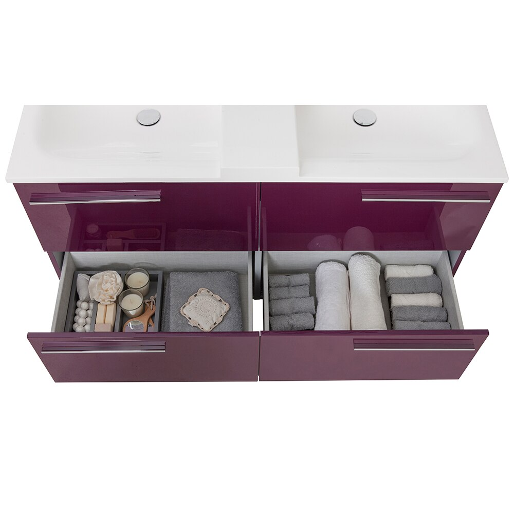 Mueble de lavabo elea ref 16742404 leroy merlin - Mueble bajo lavabo leroy merlin ...