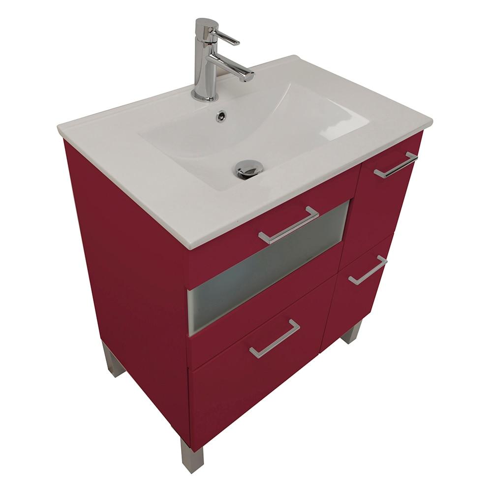 Mueble de lavabo fox ref 16729461 leroy merlin for Mueble microondas leroy merlin