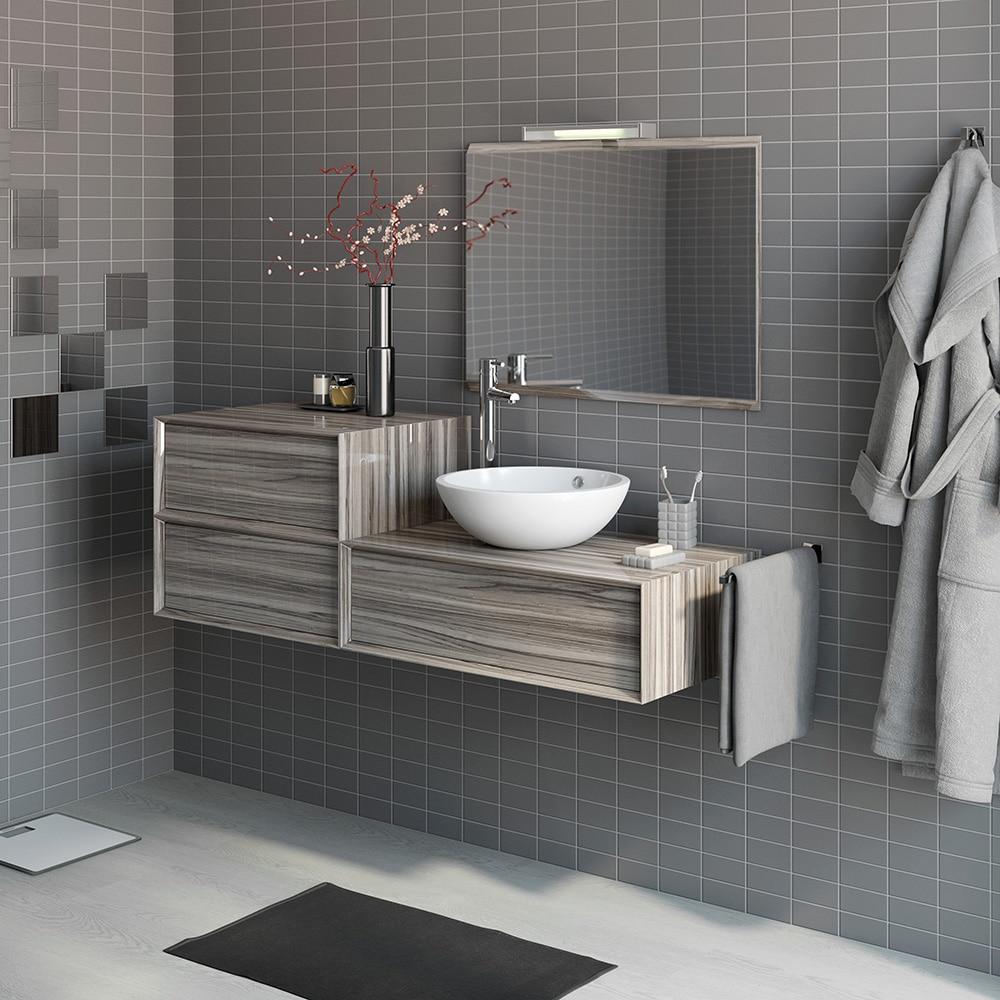 Mueble de lavabo illinois ref 16951284 leroy merlin for Mueble lavabo