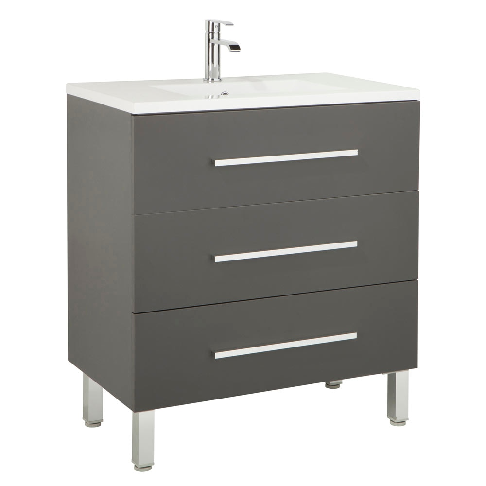 Mueble de lavabo madrid ref 17985884 leroy merlin - Muebles para restaurar madrid ...