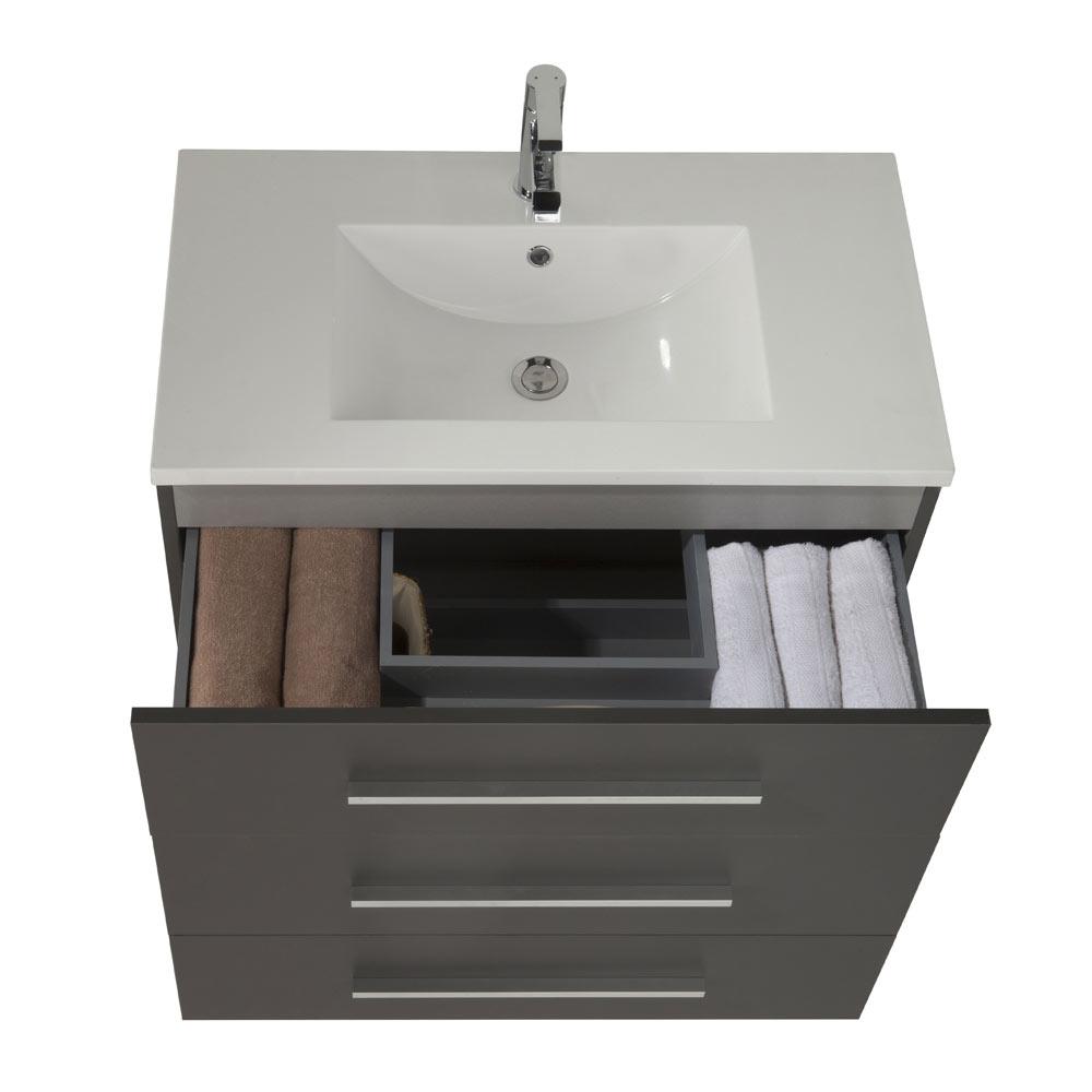 Mueble de lavabo madrid ref 17985884 leroy merlin for Mueble auxiliar lavabo