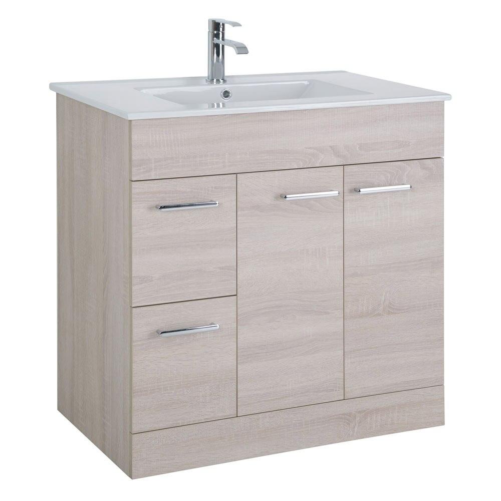 Mueble de lavabo motril ref 18054596 leroy merlin for Mueble zapatero leroy merlin