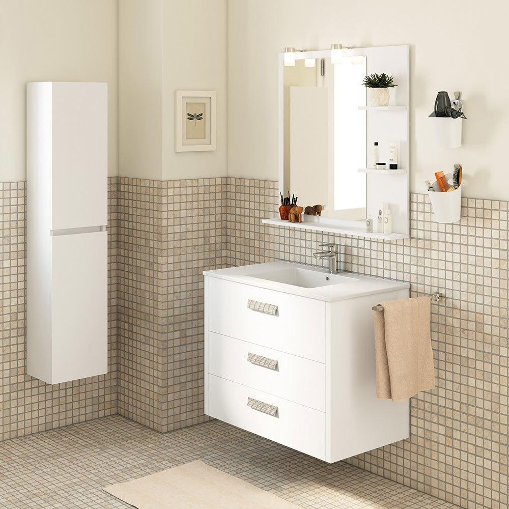 Mueble de lavabo nil ref 18370471 leroy merlin for Mueble plancha leroy merlin