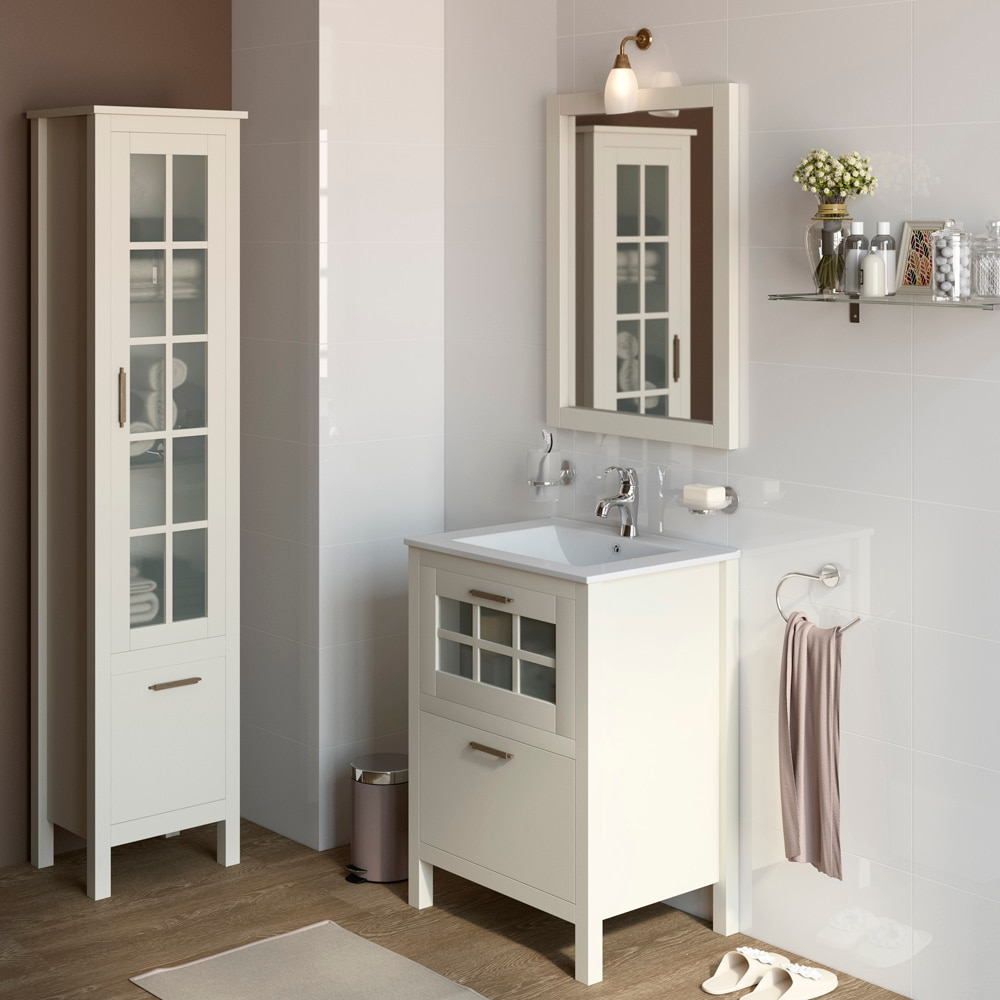 Mueble de lavabo nizza ref 17308683 leroy merlin for Muebles leroy merlin