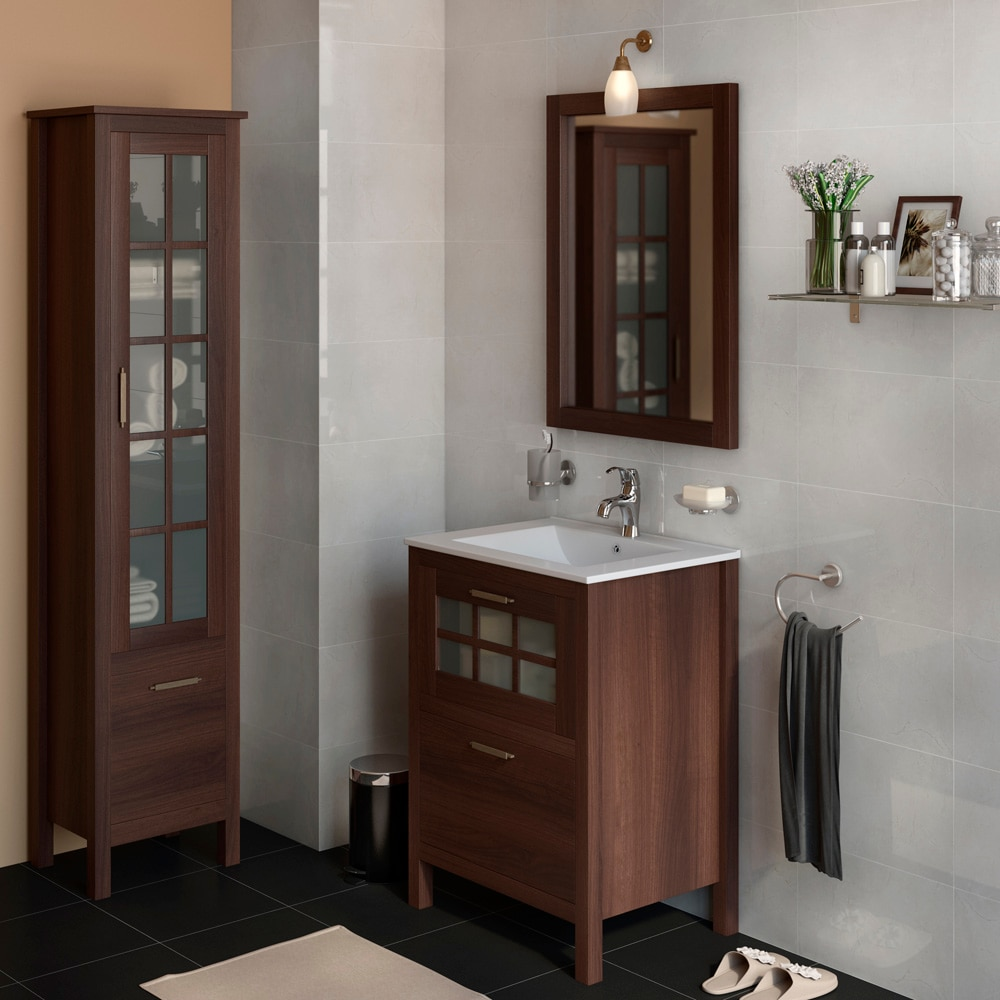 Mueble de lavabo nizza ref 17308690 leroy merlin for Lavabo bagno leroy merlin