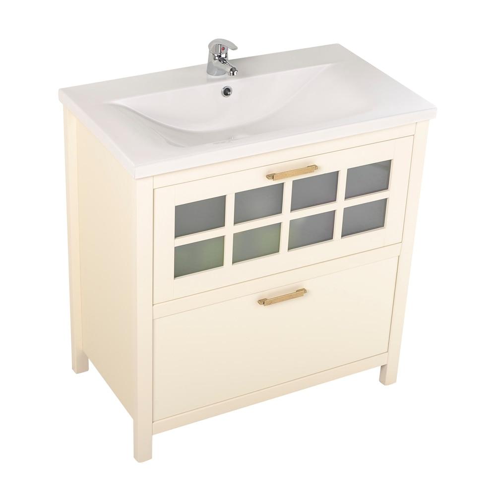 Mueble de lavabo nizza ref 17308704 leroy merlin for Lavabos leroy merlin ofertas