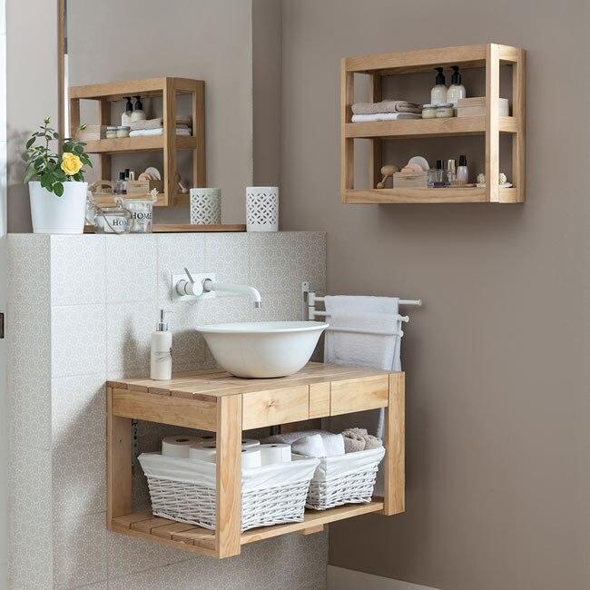 Mueble de lavabo PALET Ref. 19431405 - Leroy Merlin