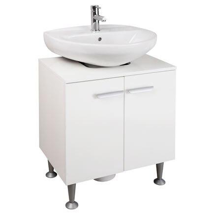 Mueble de lavabo pedestal kit ref 81868600 leroy merlin for Lavabos sobre encimera leroy merlin