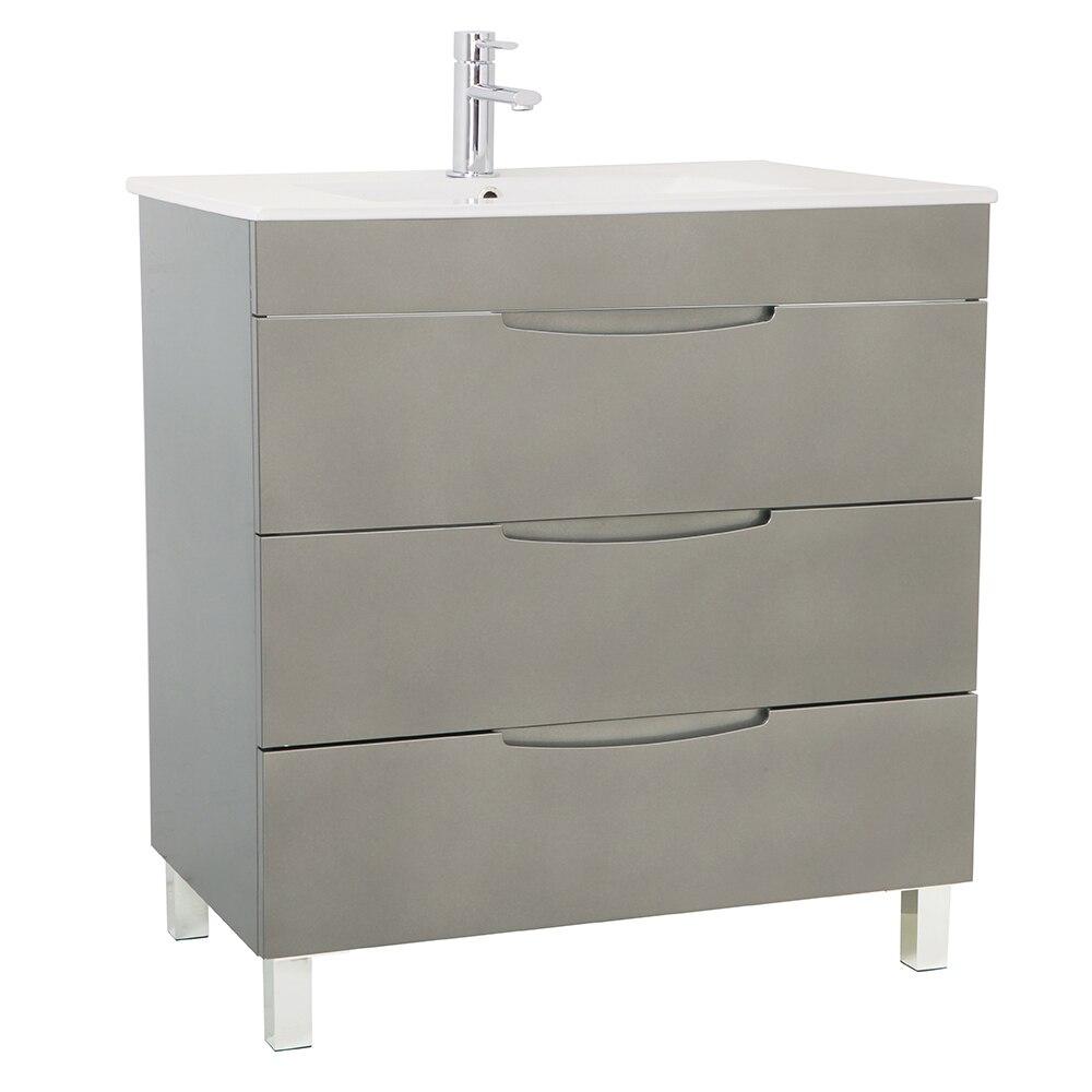 mueble de lavabo quadro ref 17124604 leroy merlin