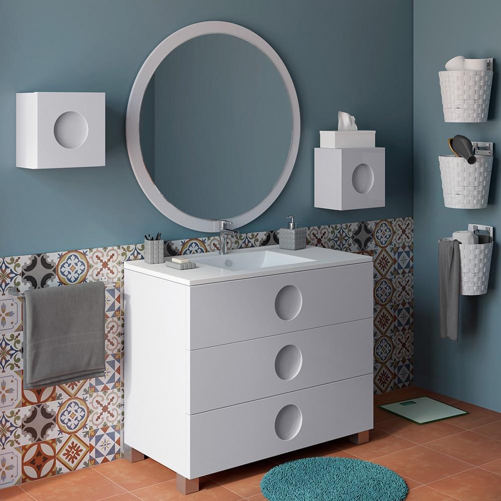 Mueble de lavabo sphere ref 16701496 leroy merlin - Muebles de bano a medida leroy merlin ...