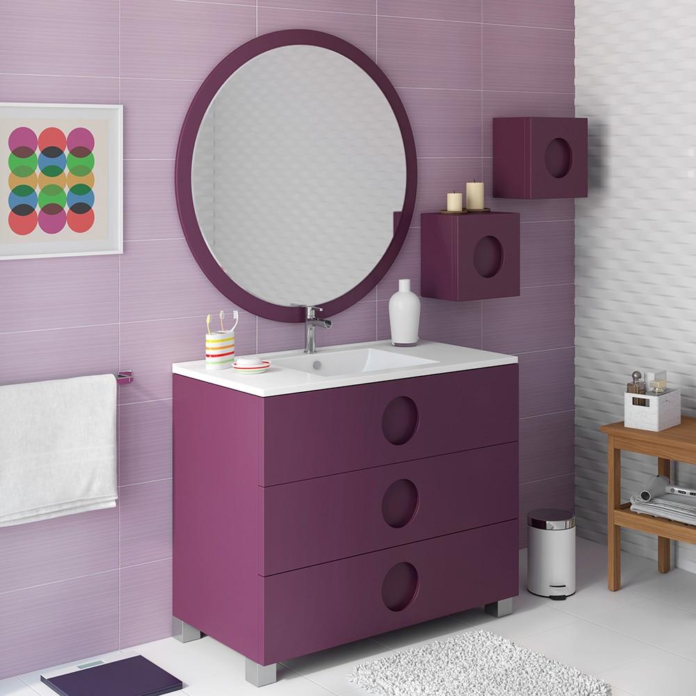 Mueble de lavabo sphere ref 16701524 leroy merlin - Muebles de resina leroy merlin ...
