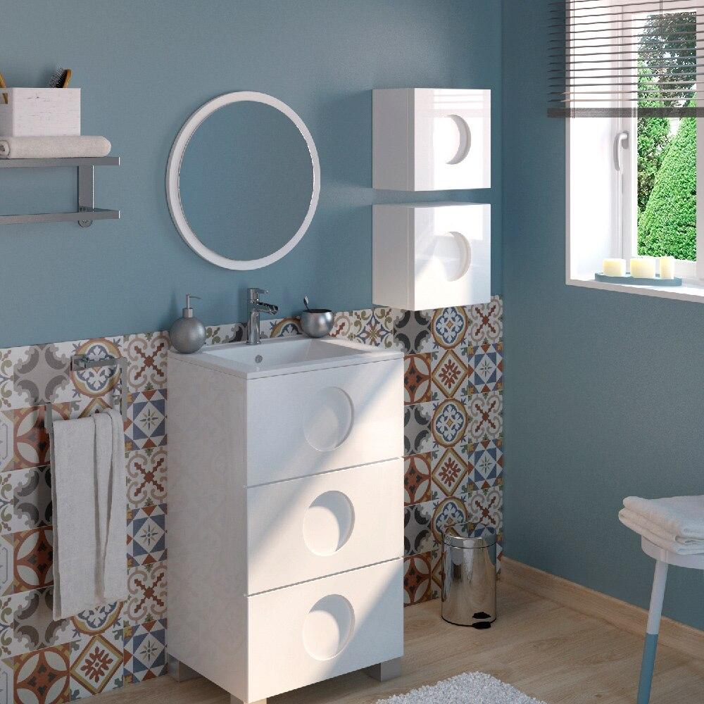 Mueble de lavabo sphere ref 17594395 leroy merlin - Mueble microondas leroy merlin ...