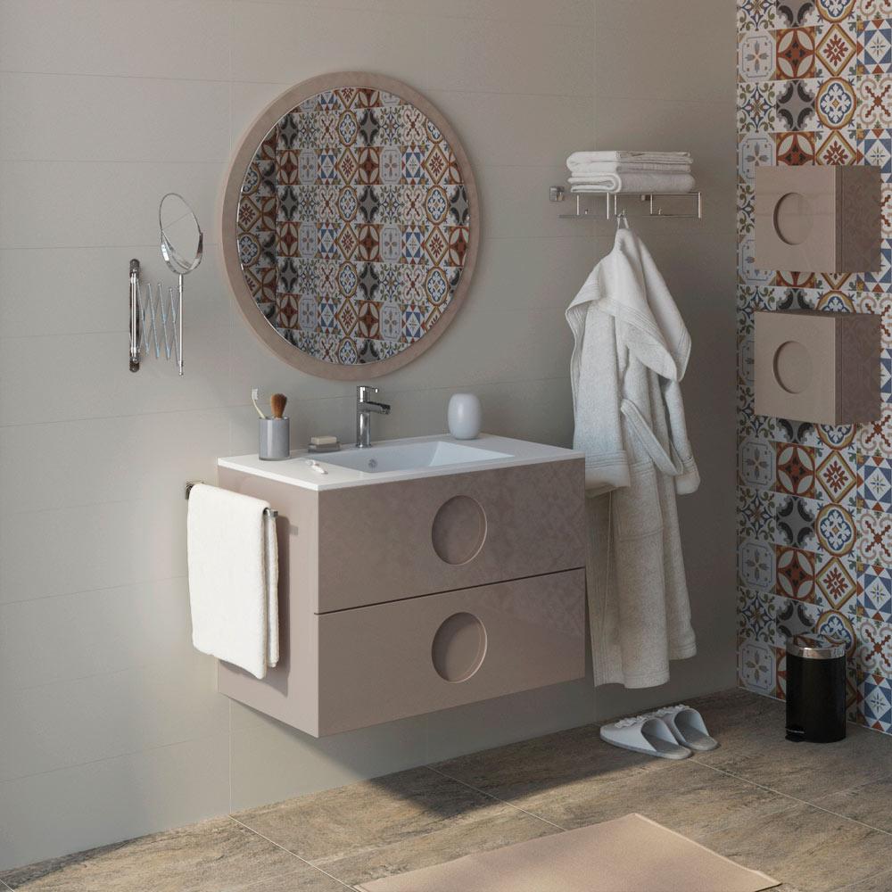 Mueble de lavabo sphere ref 17594556 leroy merlin - Muebles de resina leroy merlin ...