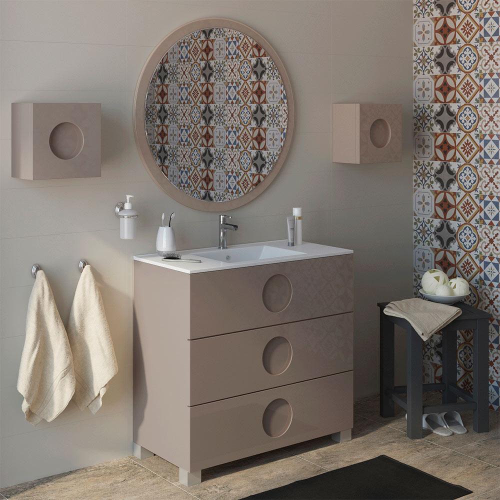 Mueble de lavabo sphere ref 17594696 leroy merlin - Mueble microondas leroy merlin ...