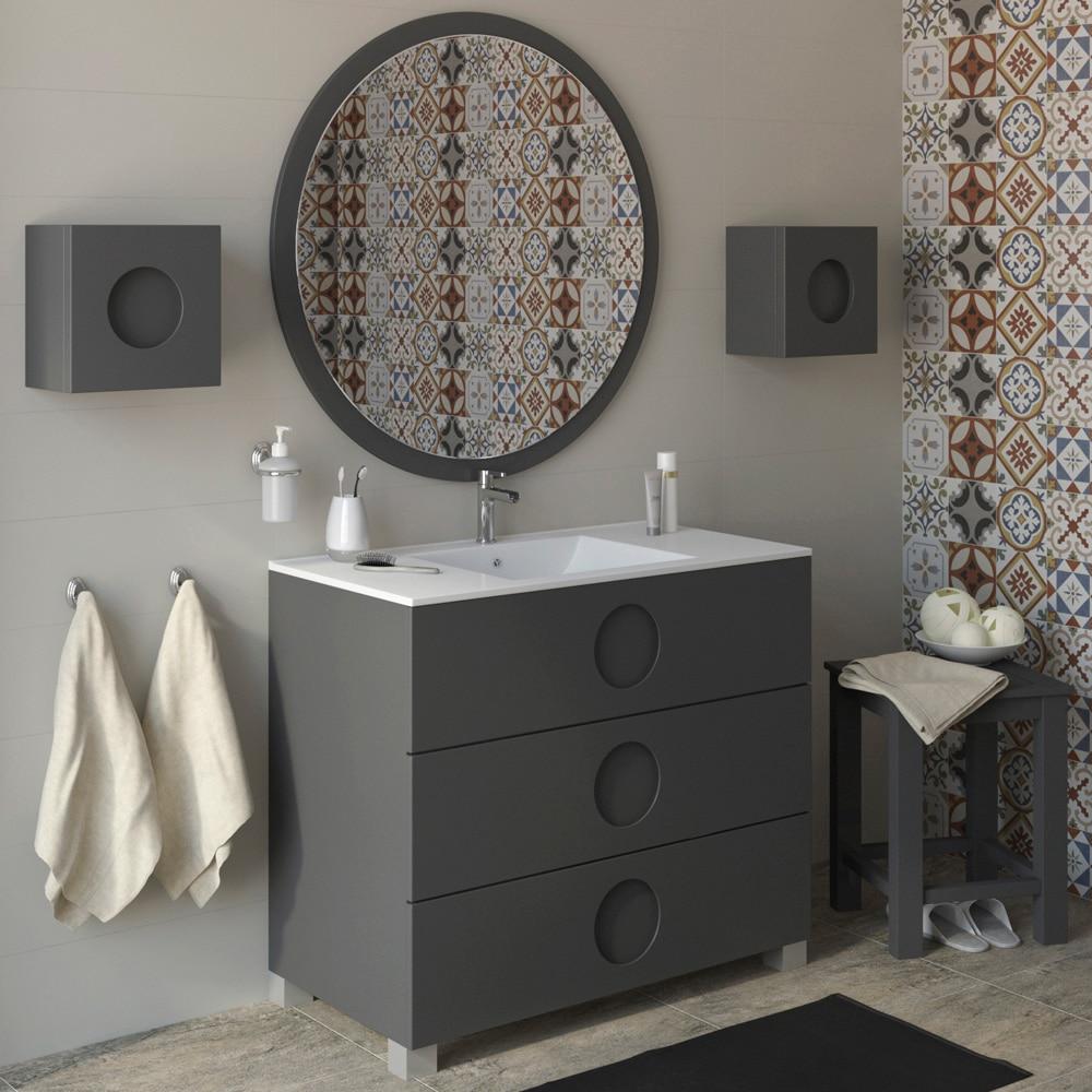 Mueble de lavabo sphere ref 17594934 leroy merlin for Leroy merlin lavabos