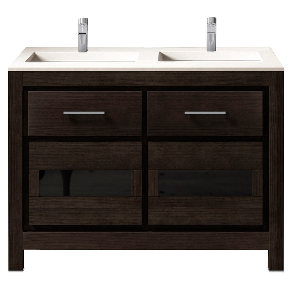 Mueble de lavabo versalles ref 16716924 leroy merlin for Mueble auxiliar lavabo