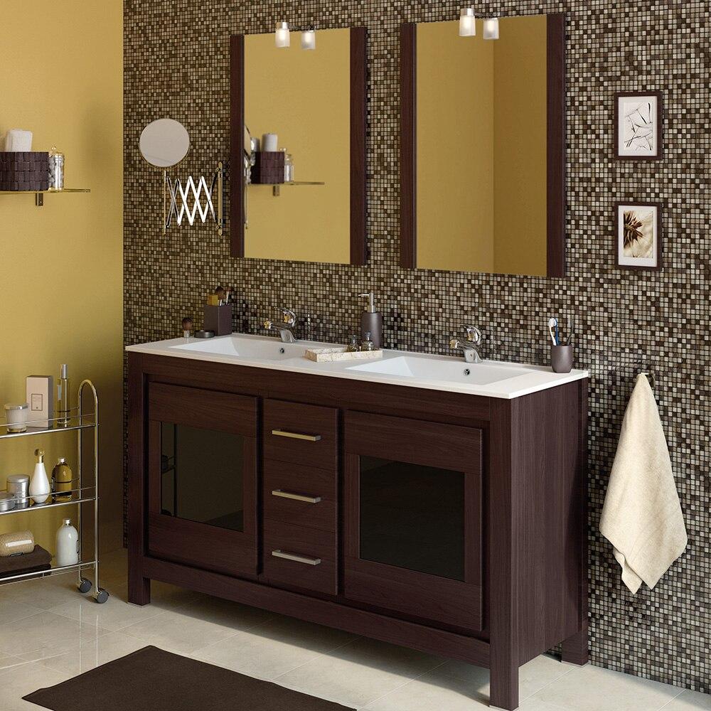 Mueble de lavabo versalles ref 16738344 leroy merlin for Mueble para microondas leroy merlin