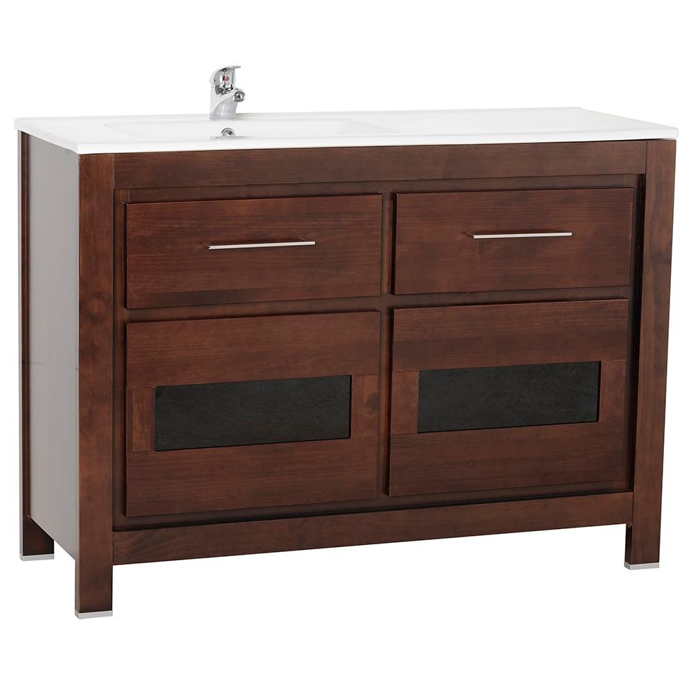 Mueble de lavabo versalles ref 16935205 leroy merlin for Mueble para microondas leroy merlin