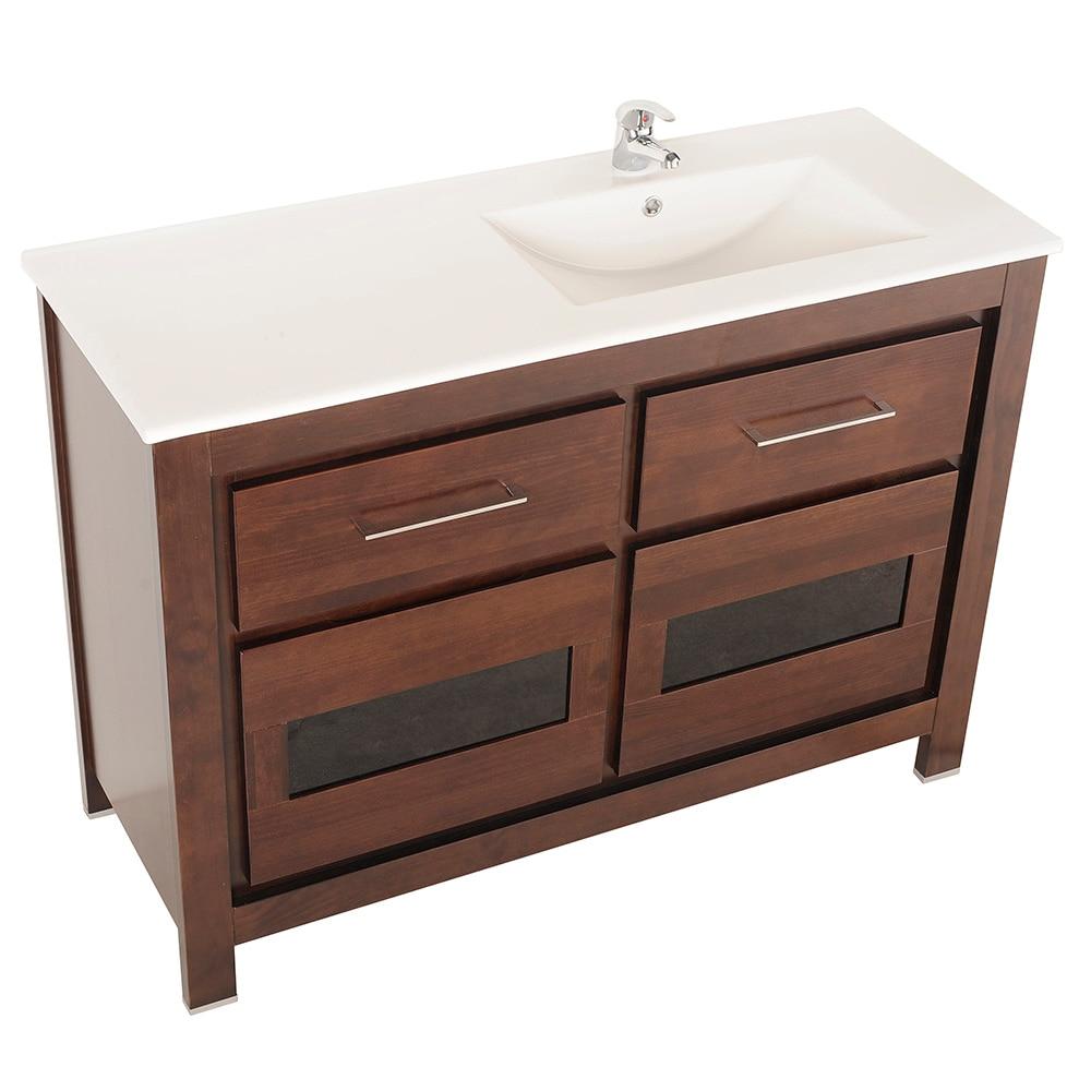Mueble de lavabo versalles ref 16935275 leroy merlin for Lavabo bajo encimera leroy merlin