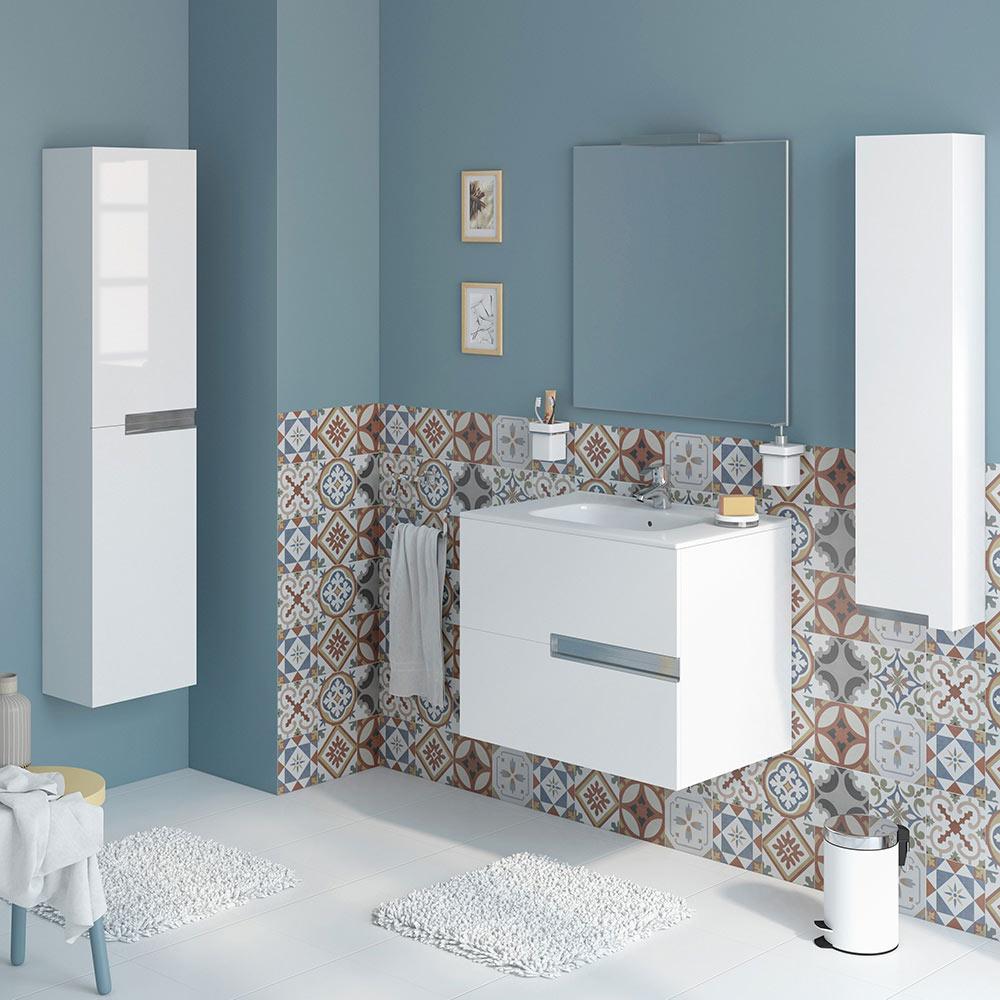 Conjunto de mueble de lavabo victoria n ref 16709126 for Mueble auxiliar lavabo