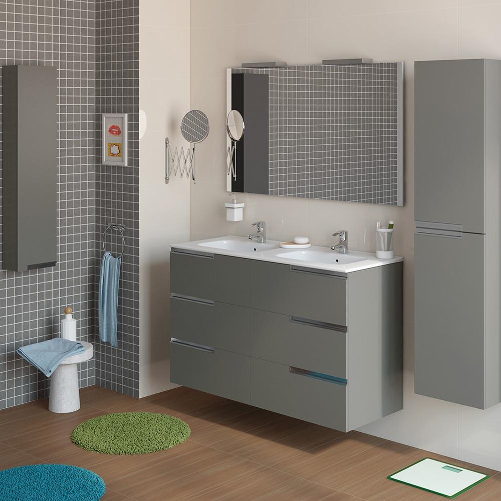 Conjunto de mueble de lavabo victoria n family ref for Lavabo leroy merlin