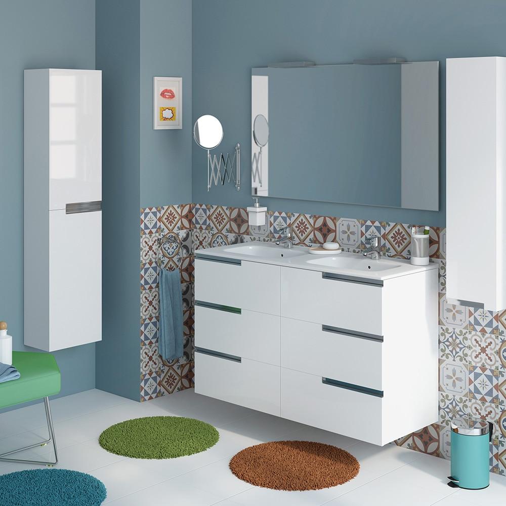 Conjunto de mueble de lavabo victoria n family ref for Mueble bajo lavabo carrefour