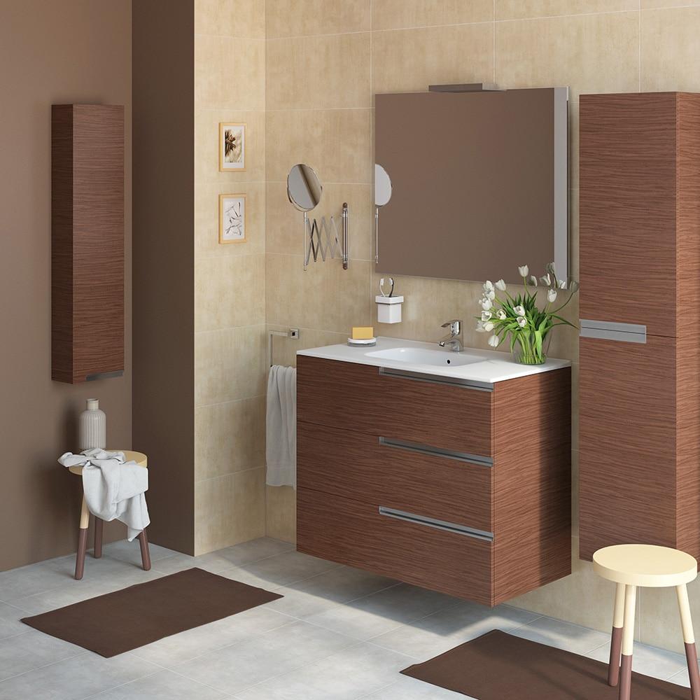 Conjunto de mueble de lavabo victoria n family ref for Lavabos leroy merlin