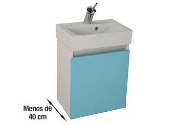 Muebles de lavabo para espacios reducidos leroy merlin for Lavabo fondo reducido