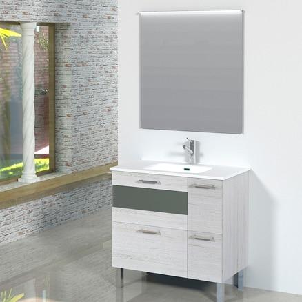 Muebles de lavabo para espacios reducidos leroy merlin for Muebles de bano a medida leroy merlin