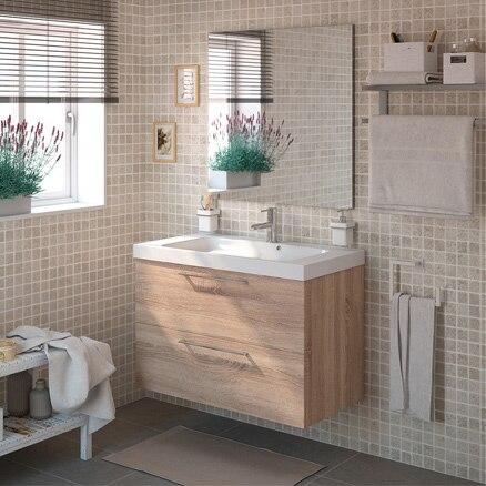 Muebles de lavabo para espacios reducidos leroy merlin for Lavabo pequeno leroy merlin