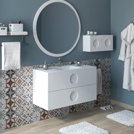 Muebles de lavabo para espacios reducidos leroy merlin for Presupuesto reforma bano leroy merlin