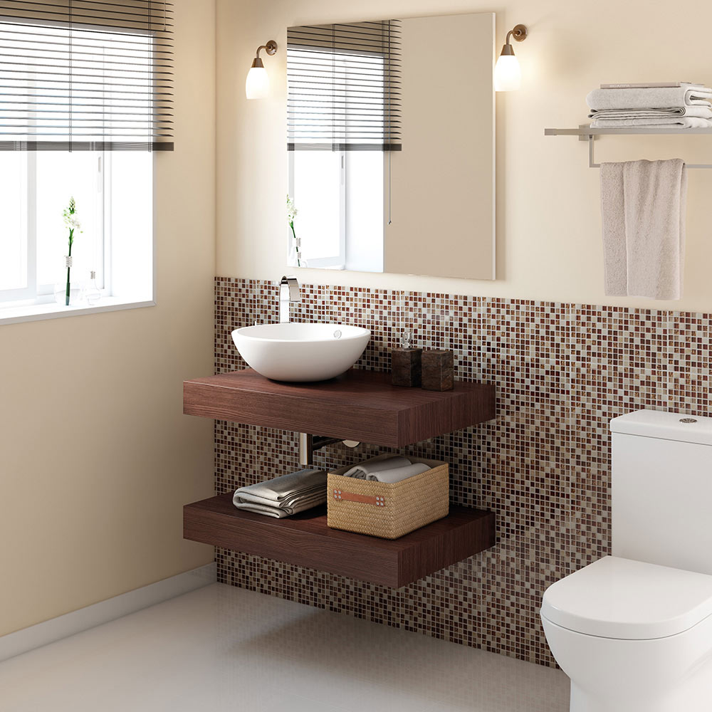 Mueble de lavabo BALDAS NATURE Ref. 17886484 - Leroy Merlin 99a0d912fb2