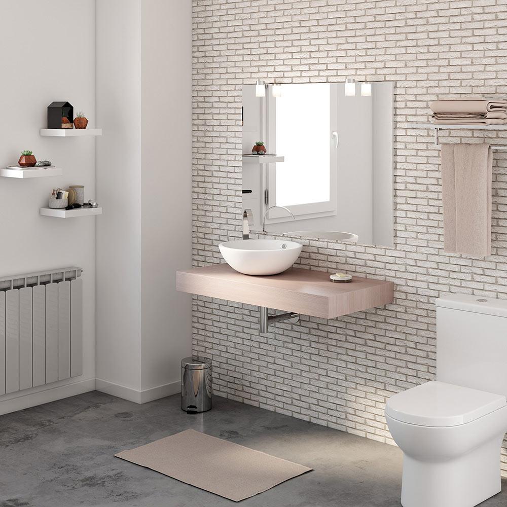 Mueble de lavabo BALDAS NATURE Ref. 17886785 - Leroy Merlin 8ae2ec8841f
