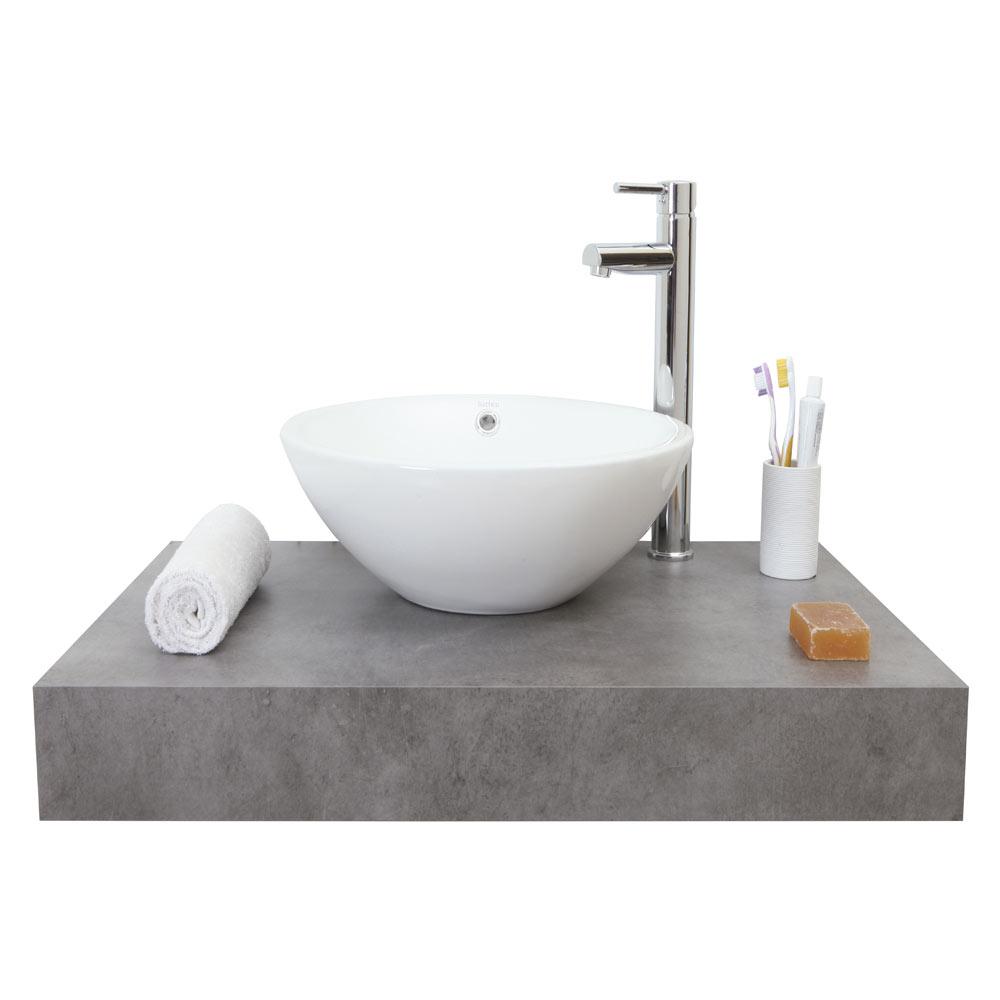 Mueble de lavabo baldas nature ref 17886862 leroy merlin for Baldas leroy merlin