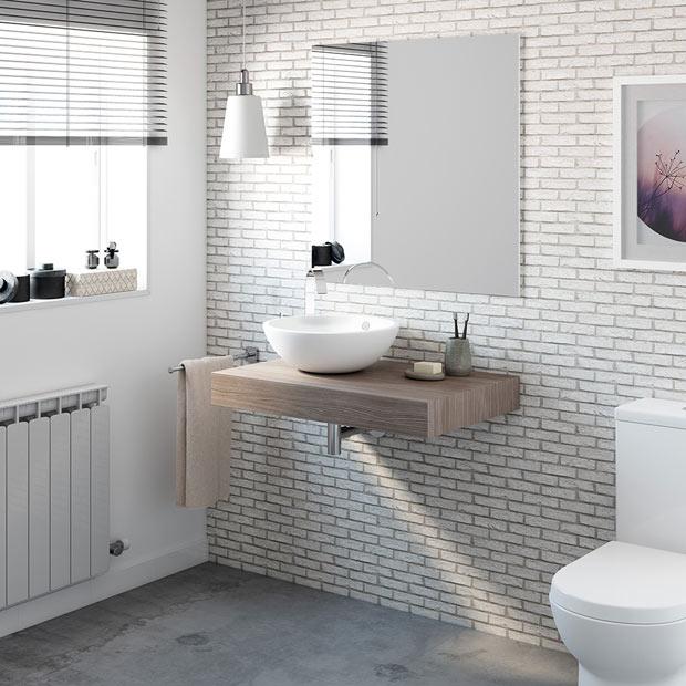 Baldas y lavabos suspendidos leroy merlin - Baldas bano leroy merlin ...